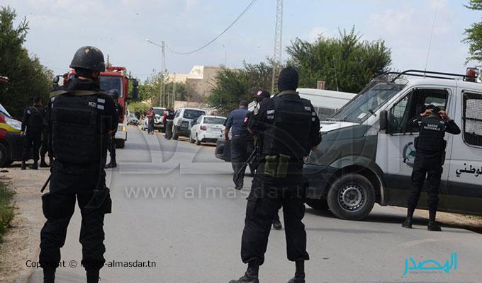 تونس: انتهاء عملية اقتحام منزل شباو ومقتل 6 من عناصر المجموعة المتحصنة به
