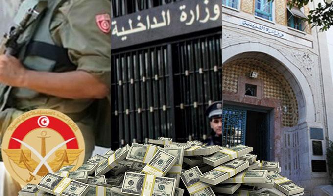 tunisie-almasdar-ministere-education-interieur-defense-budget-d-etat