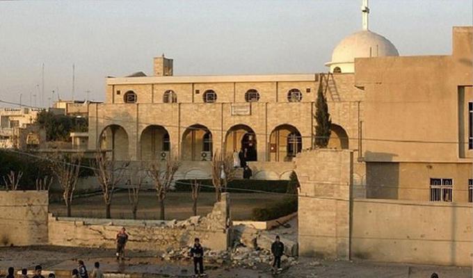 داعش يفجر كنيسة السيدة مريم العذرا