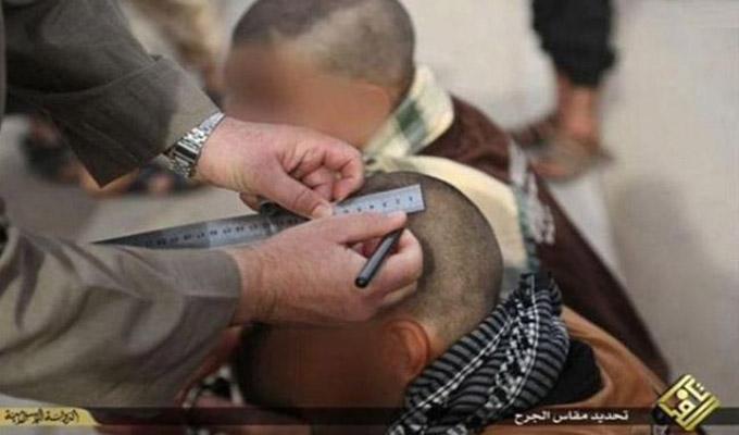 """المسطرة أحدث أساليب""""داعش""""في القصاص من شخصين"""