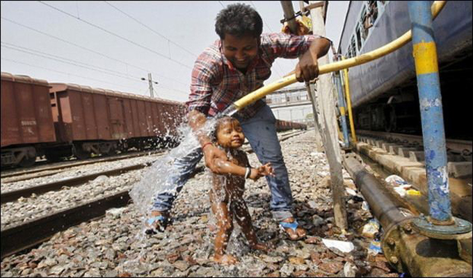 موجة حر في الهند