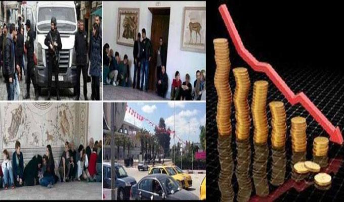 خسائر بحوالي 666 مليار من المليمات تكبدتها تونس بسبب عملية باردو الارهابية