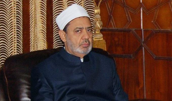 شيخ الأزهر الشيخ أحمد الطيب