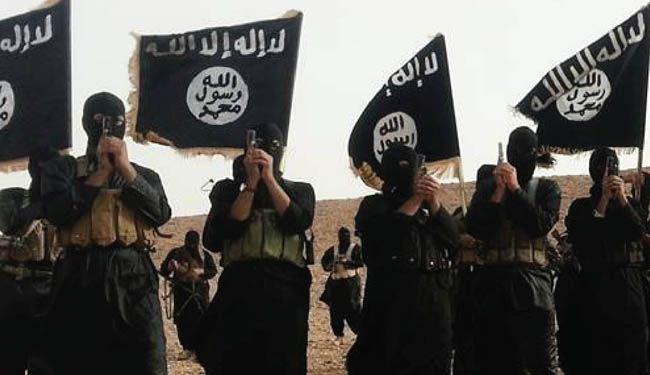 عناصر تنظيم داعش الارهابي