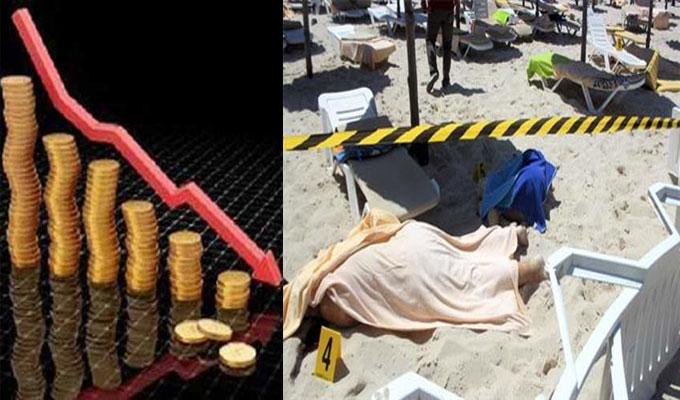 بسبب هجوم سوسة الارهابي..تونس تتوقع خسارة لا تقل عن 515 مليون دولار في 2015