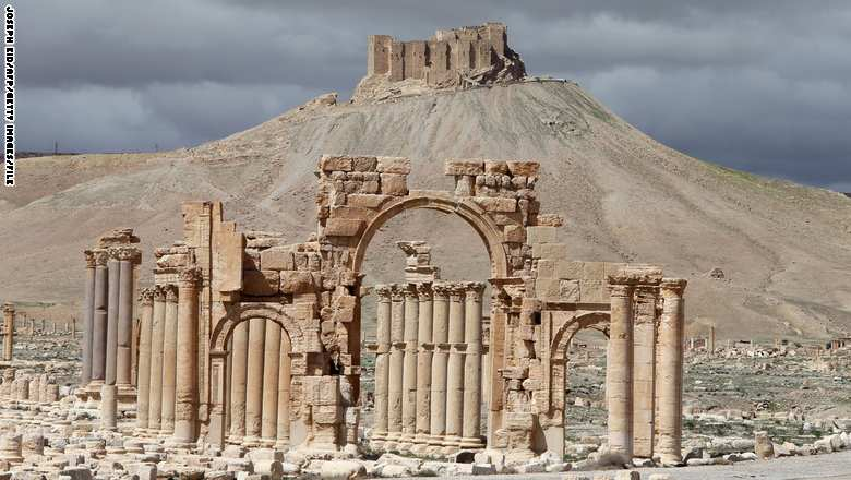 SYRIA-CONFLICT-ARCHAEOLOGY-PALMYRA