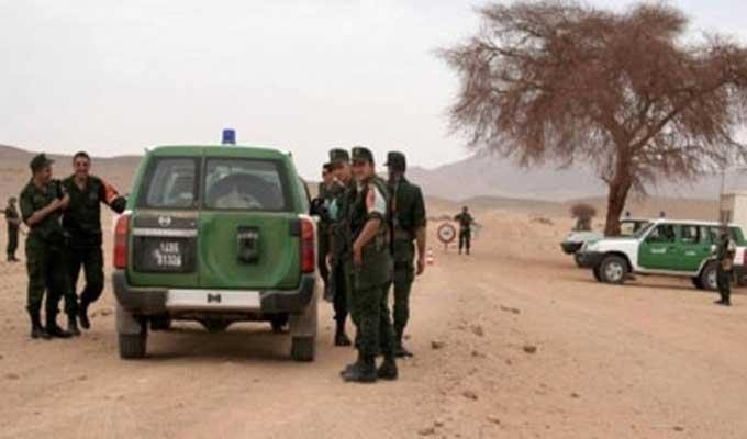 عاطلون عن العمل يحاولون إجتياز الحدود التونسية الجزائرية و الأمن يتصدى لهم