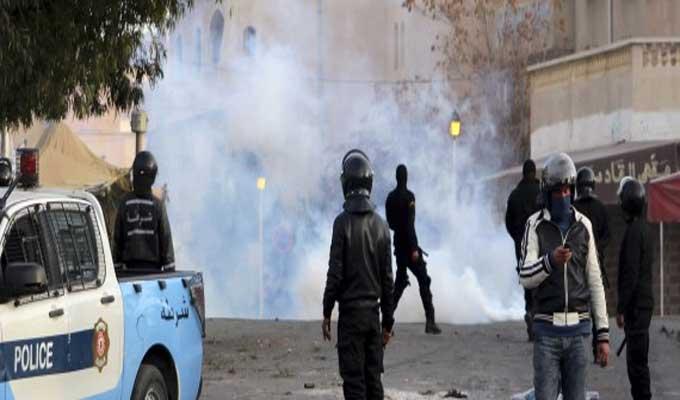 عاجل: مواجهات عنيفة بين الأمن وأحباء هلال الشابة