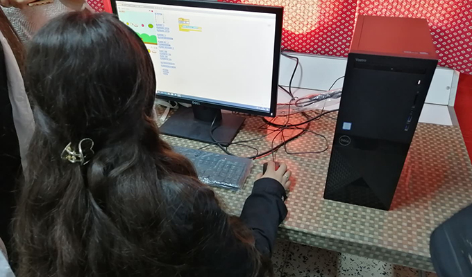 """165850307 1768691316669709 4396400283216074924 n - """"البنك العربي لتونس"""" يركز مخبر إعلامية بالمدرسة الإعدادية الحنايا بزغوان في اطار البرنامج الوطني لرقمنة التعليم.."""