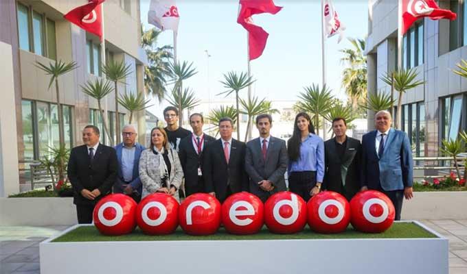 Ooredoo 3 - Ooredoo واللجنة الوطنية الأولمبية التونسية  يتعاقدان من أجل القيم والتألّق