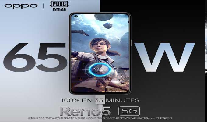 Oppo 2 - اختيار سلسلة OPPO Reno5 كشريك رسميّ لمنصّةPUBG MOBILE Esports في منطقة الشّرق الأوسط وافريقيا لسنة 2021
