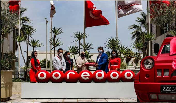 Ooredoo Tunisie 2 - Ooredoo تحتفل بتسليم سيارة Wallys Car