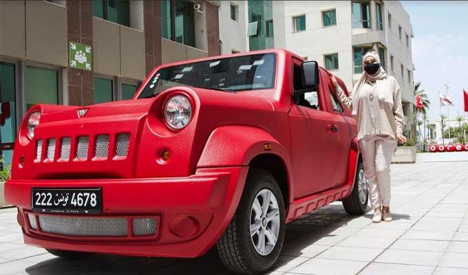Ooredoo Tunisie 4 - Ooredoo تحتفل بتسليم سيارة Wallys Car