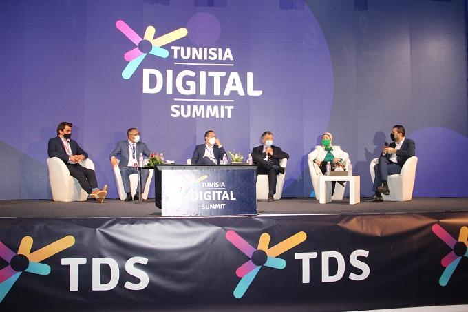 IMG 7878 - من بينها اتصالات تونس: مؤسّسات وطنيّة وشركات ناشئة تشارك في النسخة الخامسة لقمّة تونس الرقميّة