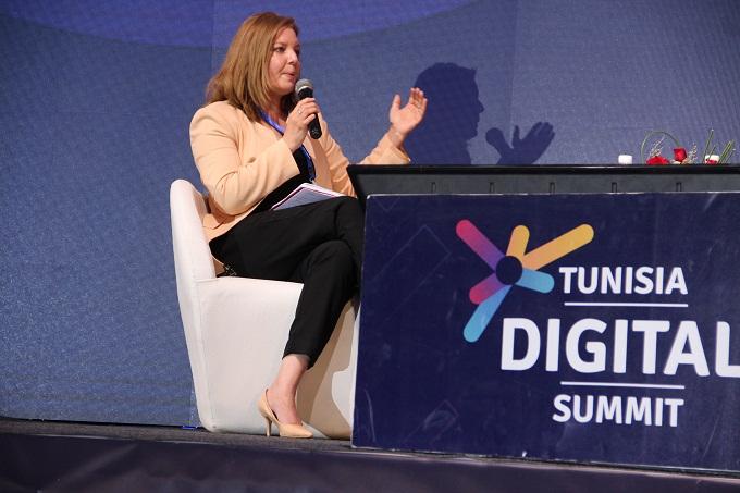 """tt2 tds - جيهان بوزيّان: """"اتصالات تونس في قلب التحوّل الرقمي"""" (فيديو)"""